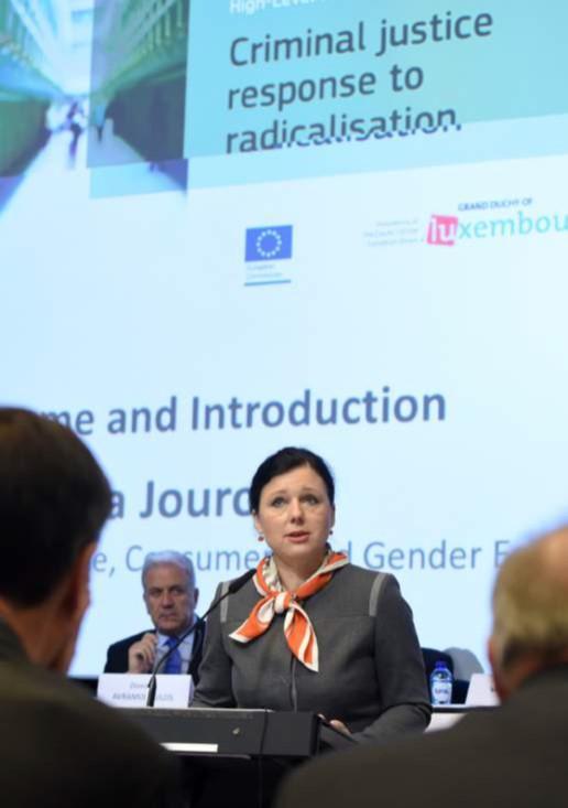 Vera Jourova radicalisation